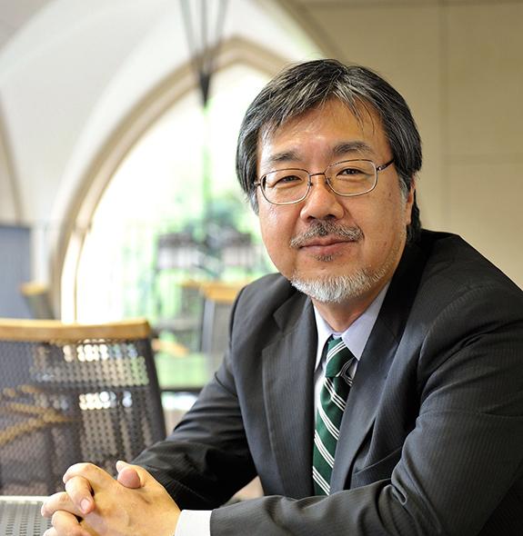 法学部長 大石 泰彦 [Yasuhiko Oishi]